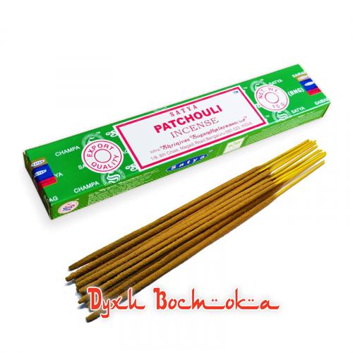 Натуральные аромапалочки Patchouli (Пачули)