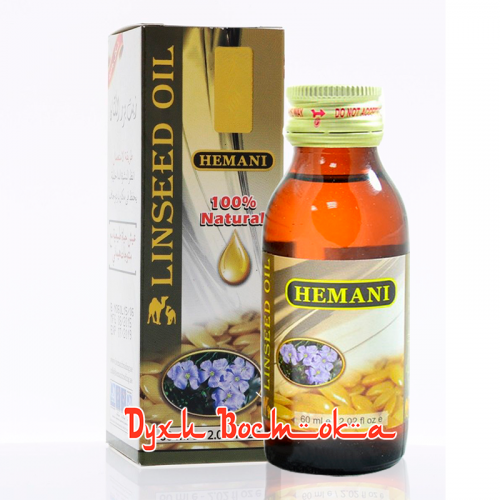 Косметическое масло семян льна