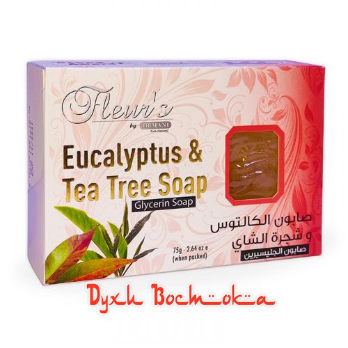 Мыло Fleur's Эвкалипт и Чайное дерево